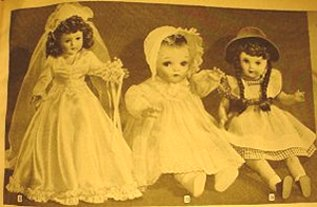 1945 Wards catalogue dolls