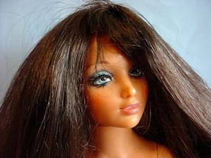1970s Ideal Tiffany Taylor black hair