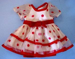 1972 Shirley Temple dress full