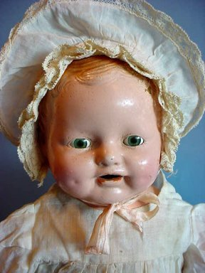 Antique Doll Identities Can Be Found If They Are Marked