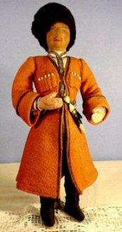 Russian Cossack doll