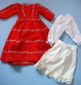 Kestner slim waist doll clothes