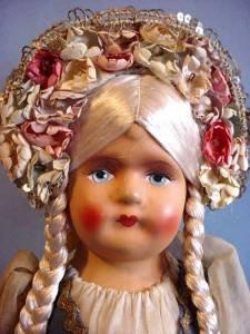 Lovely 15 inch Hungarian girl face
