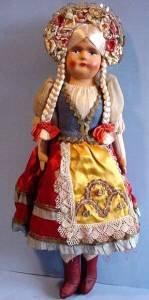 Lovely 15 inch Hungarian girl full