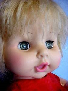 Marked Horsman Doll 1969 face
