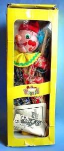 Pelham puppet Clown made in England full