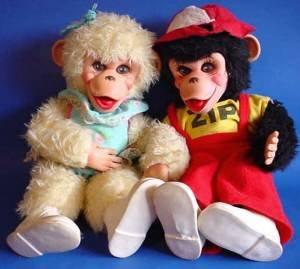 Rushton monkey Zip and his girlfriend full