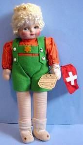 Tagged vintage Georgene Switzerland full