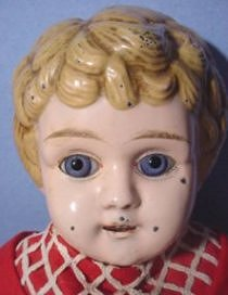 Tin Head doll