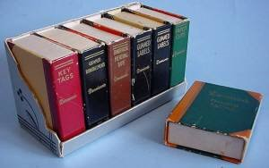 Very small vintage box books one