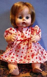 Vintage 1965 Madame Alexander 12 inch baby