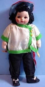 Vintage Georgene Oriental cloth girl full