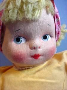 Vintage Mollyes girl face