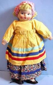 Vintage Mollyes girl full