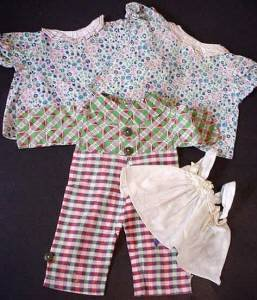 Vintage Raggedy Ann and Andy Clothes full