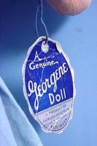 Vintage tagged Georgene Holland Boy tag