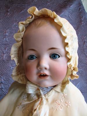 Adorable J D Kestner Hilda 1070 Dome Head Baby