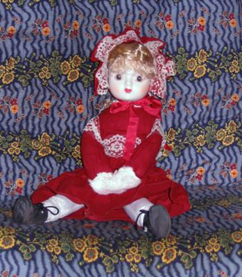 the doll from the basement