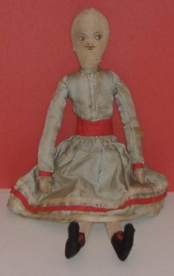 Old cloth dolly