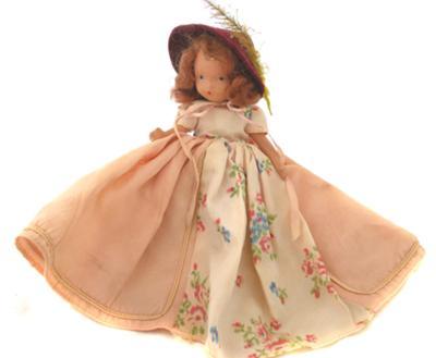 Bavarian Composition Doll 5