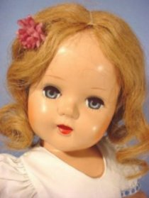 beauty doll closeup