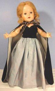 beauty formal doll