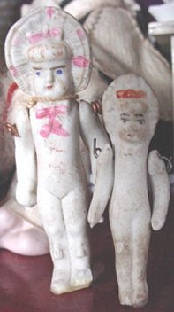Small Antique Bisque Dolls From The 1800 S And Early 1900 S