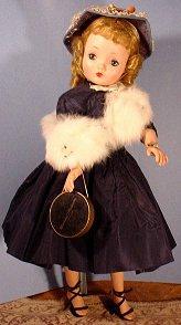 cissy doll in taffeta