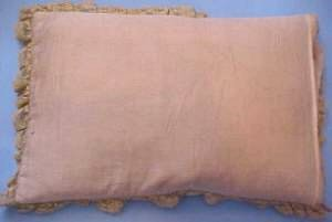 doll carriage pillow display back