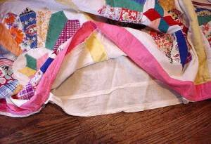 doll quilt bed cover backing