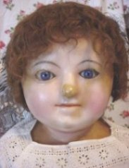 english eye lever doll