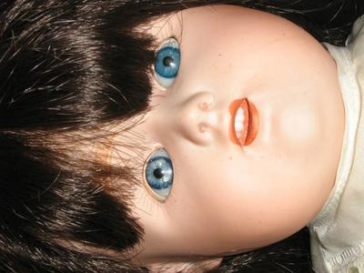 Nippon Doll head (not original hair)