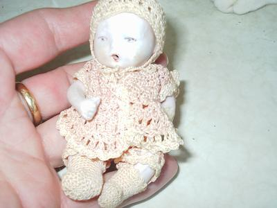 very old baby doll