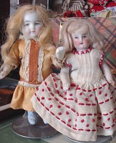 group all bisque doll