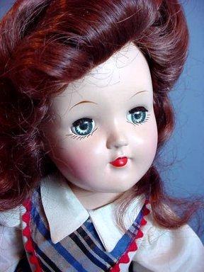hard plastic Toni doll