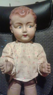 This is the upper part of the doll