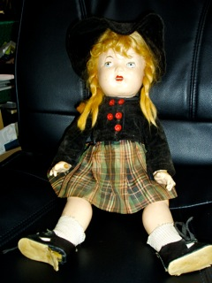 Scottish girl doll