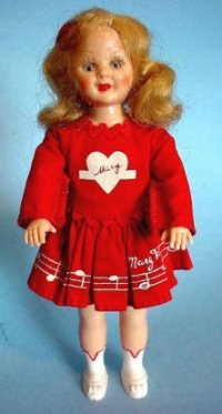 Mary Hartline doll