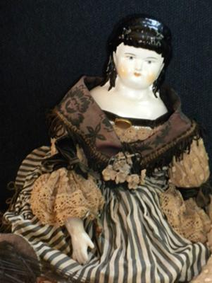 HJ 5B marked china head doll