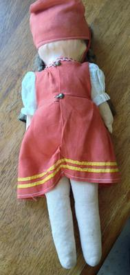 German Doll back