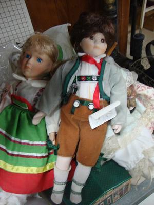Dutch Porcelain Girl Doll