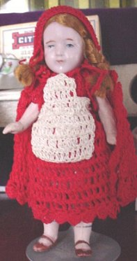 red ridinghood doll