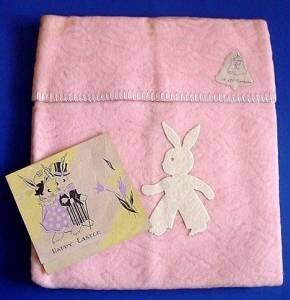 Store stock bunny blanket full