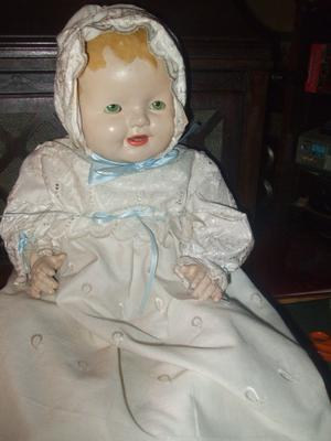 Vintage Compo Doll