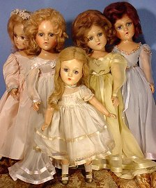 wedding party dolls