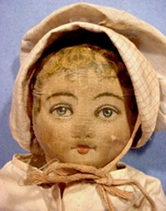 Bruckner doll in bonnet