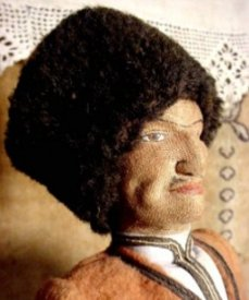 Russian Cossack doll