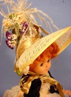 Empress Josephine doll close up