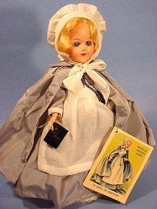 Priscilla Mullins Alden doll
