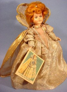 Queen Elizabeth doll